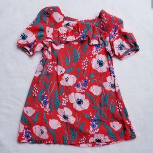 OSHKOSH Red Floral Sun Dress